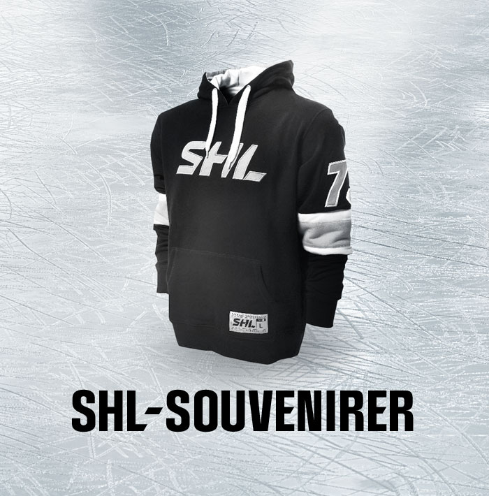 SHL-souvenirer
